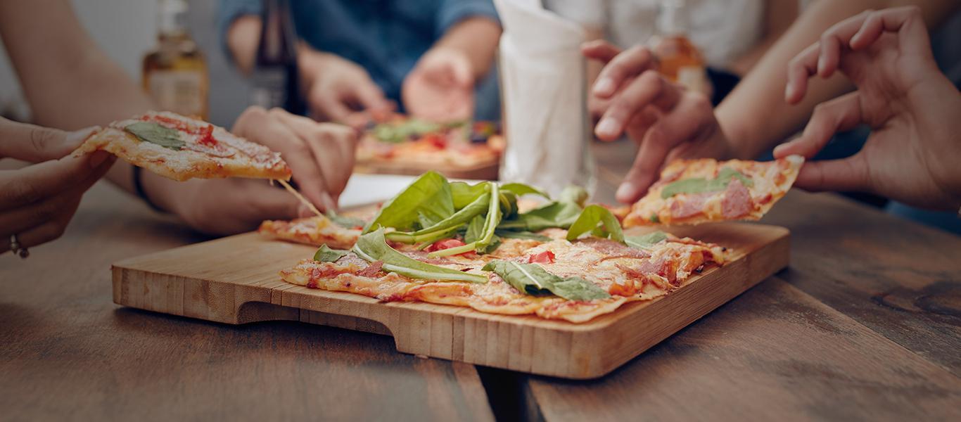 Finie la rigolade, ce soir c'est pizza maison !