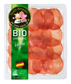 Lomo espagnol bio tranché Frais Devant